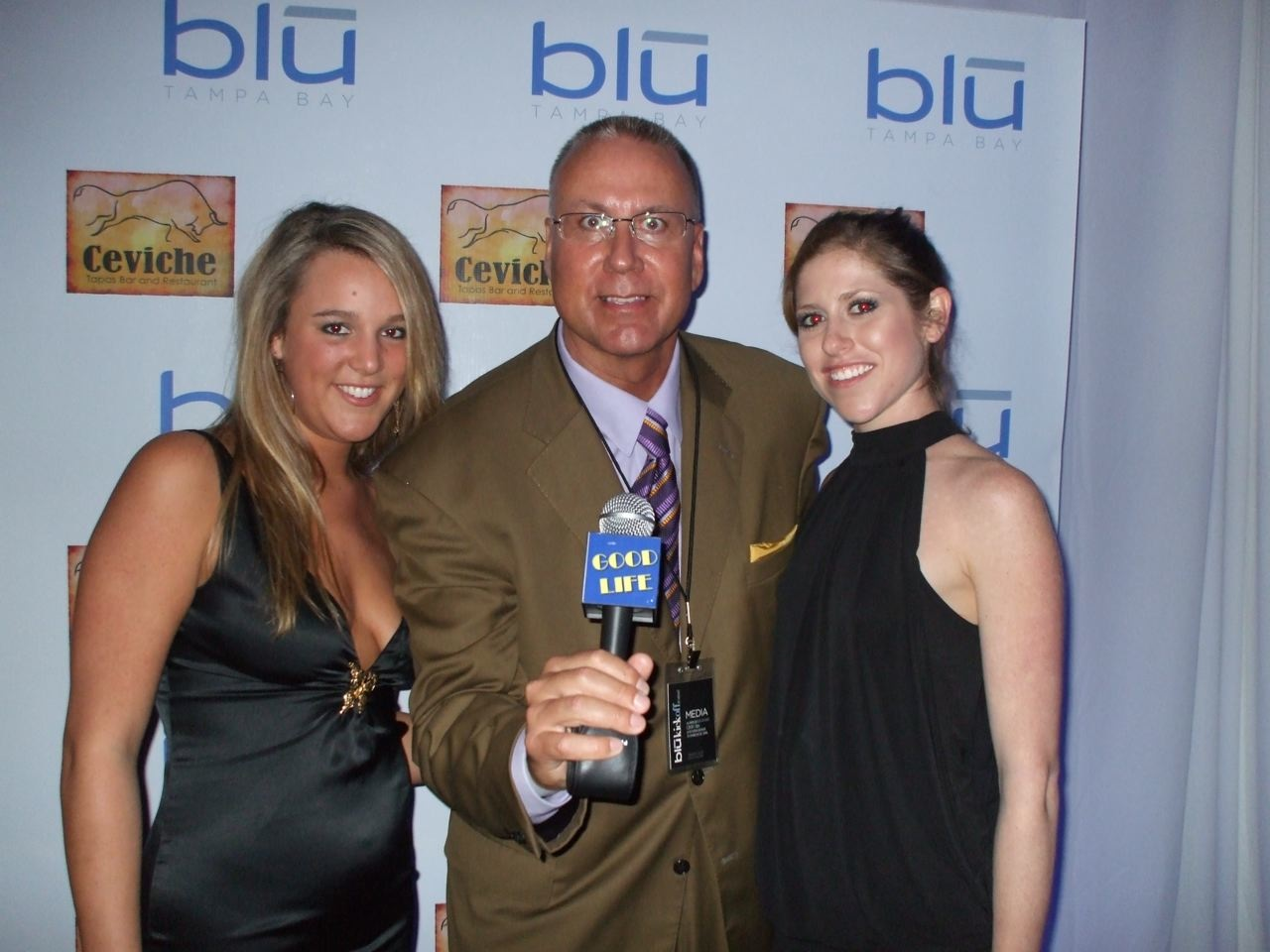 Blu Magazine Super Bowl Launch Party