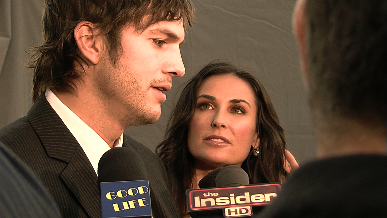 Ashton Kutcher & Demi Moore Giving Back